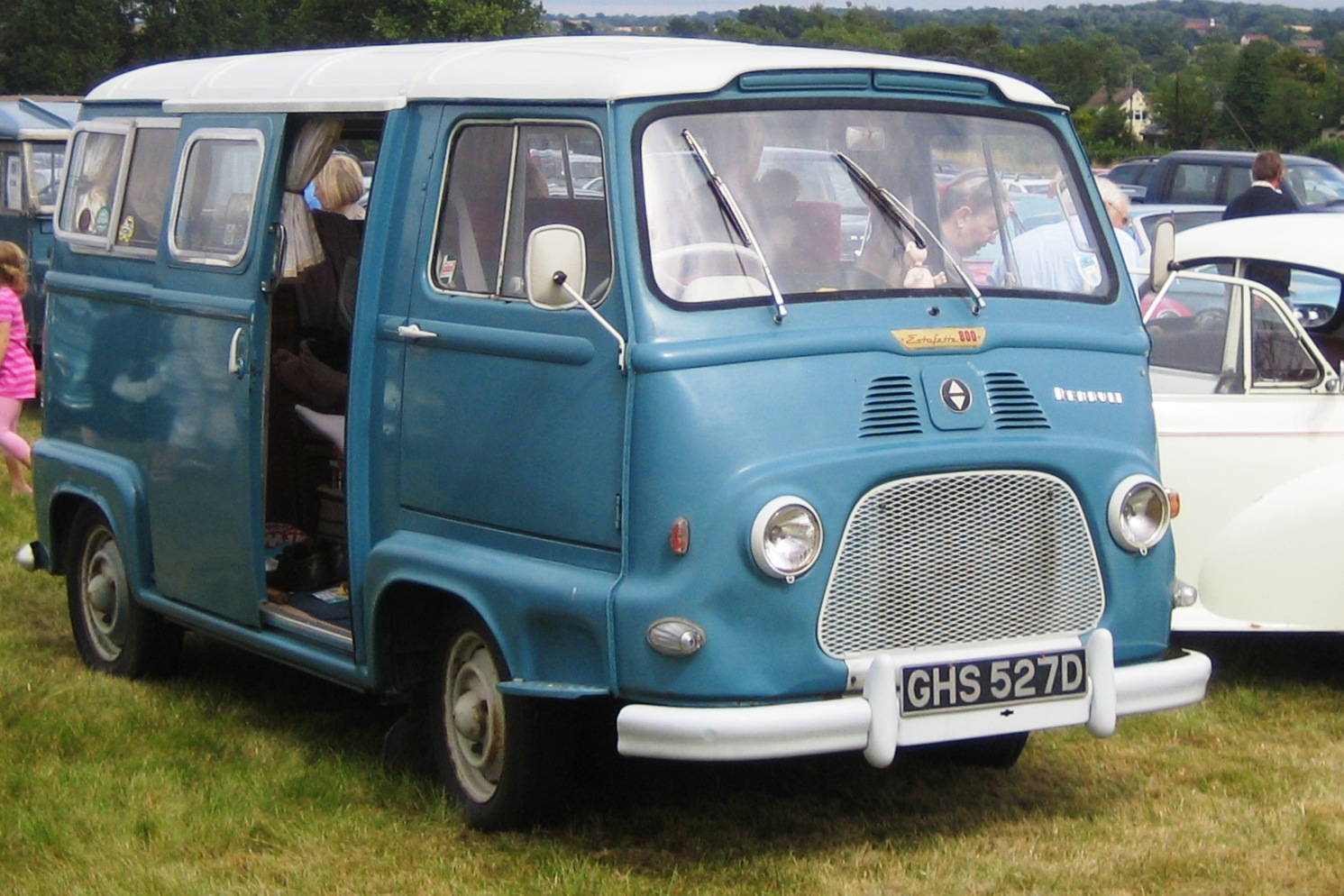 renault estafette 60 van high roof cafe legal eligor ebay. Black Bedroom Furniture Sets. Home Design Ideas