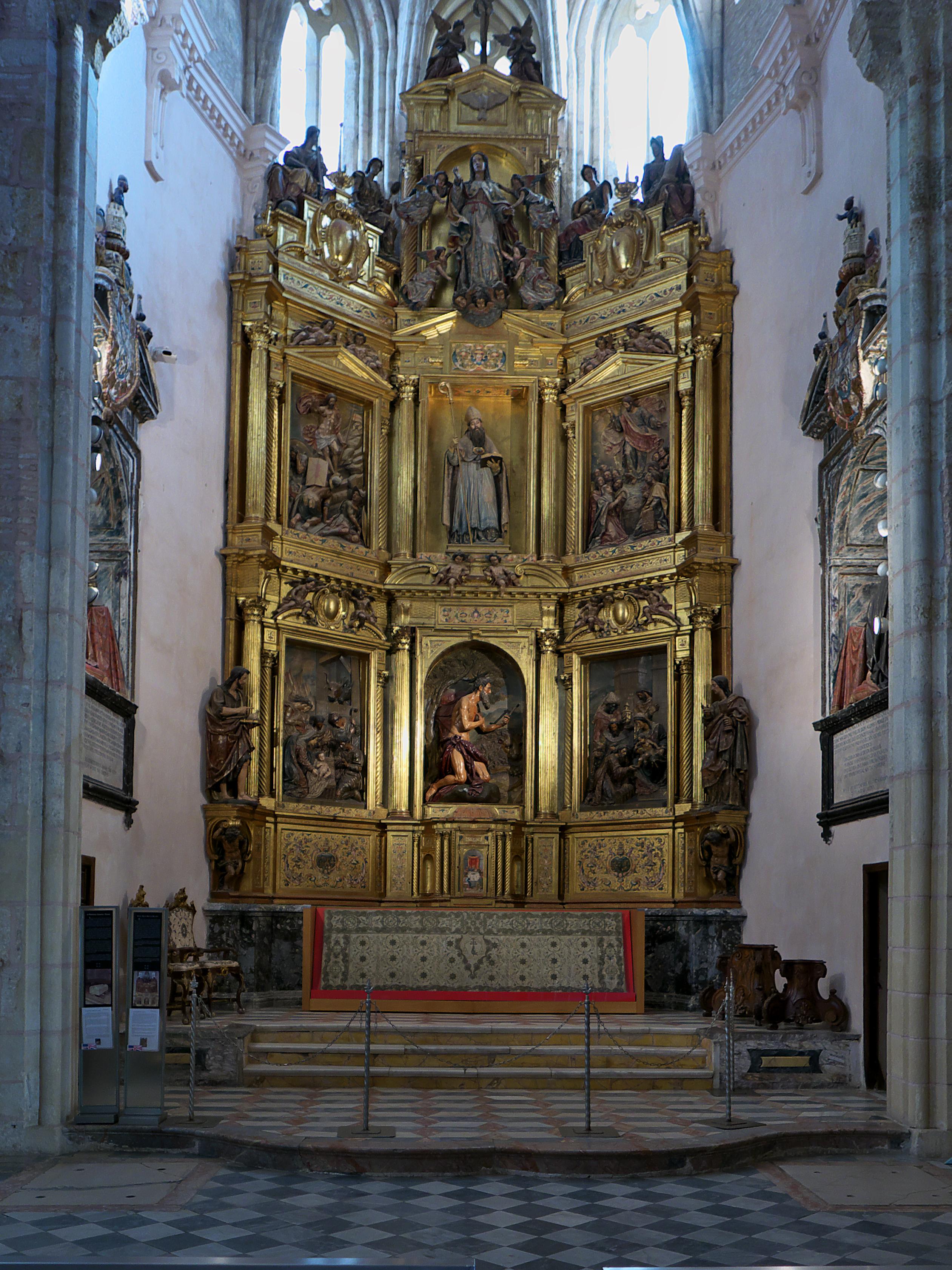 Archivo Retablo Mayor Del Monasterio De San Isidoro Del Campo