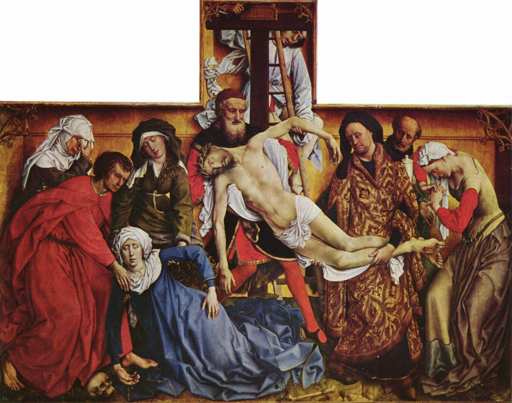 an analysis of the deposition by rogier van der weyden The deposition – follower of rogier van der weyden the paper is an opportunity for you to apply the skills of visual analysis we have been developing in.