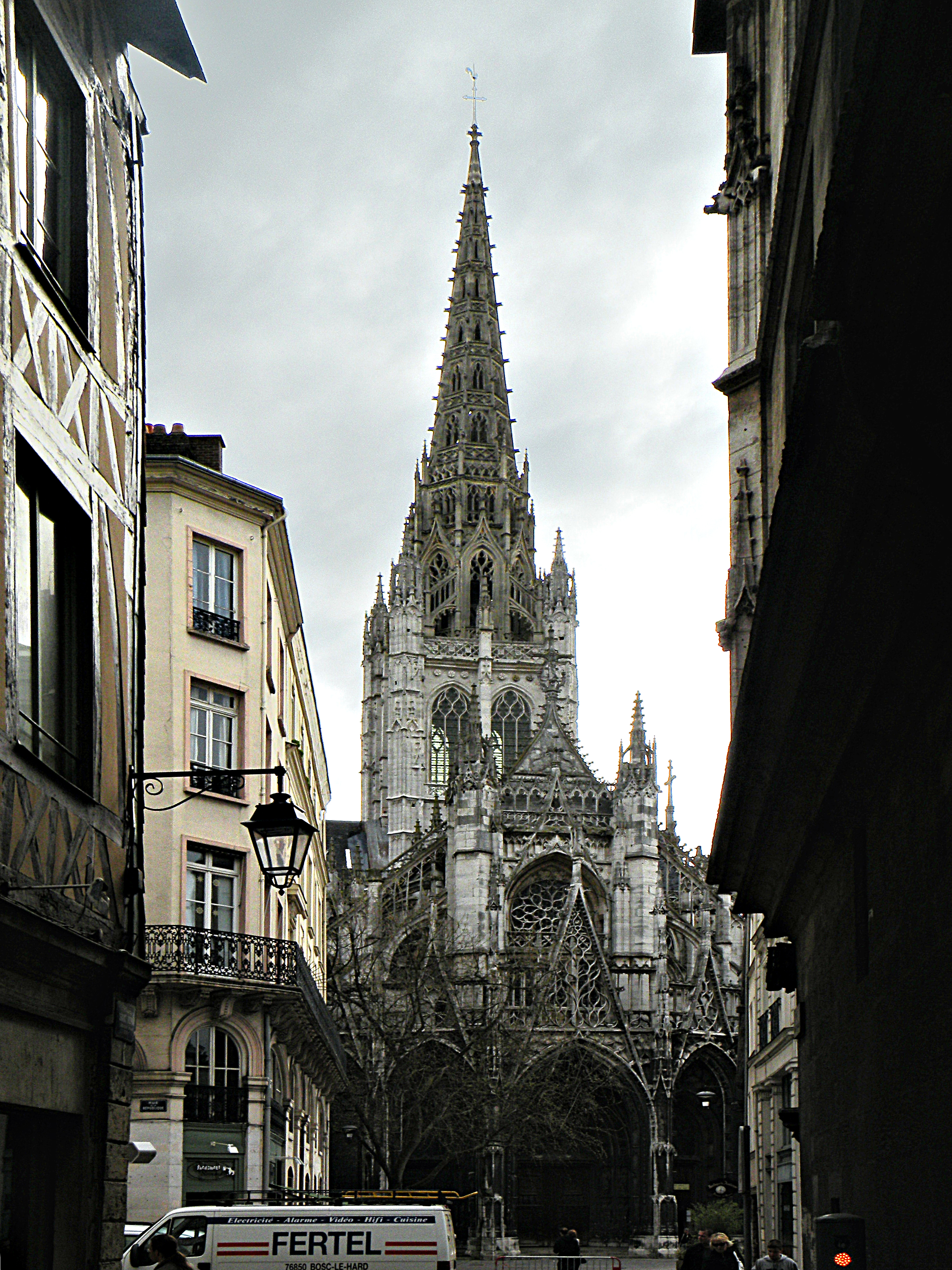 File rouen eglise saint wikimedia commons - Tapisserie saint maclou ...