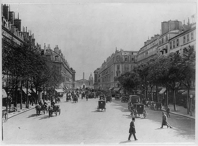 El París de Napoleón III - Página 3 Rue_royale_(Paris,_1900)
