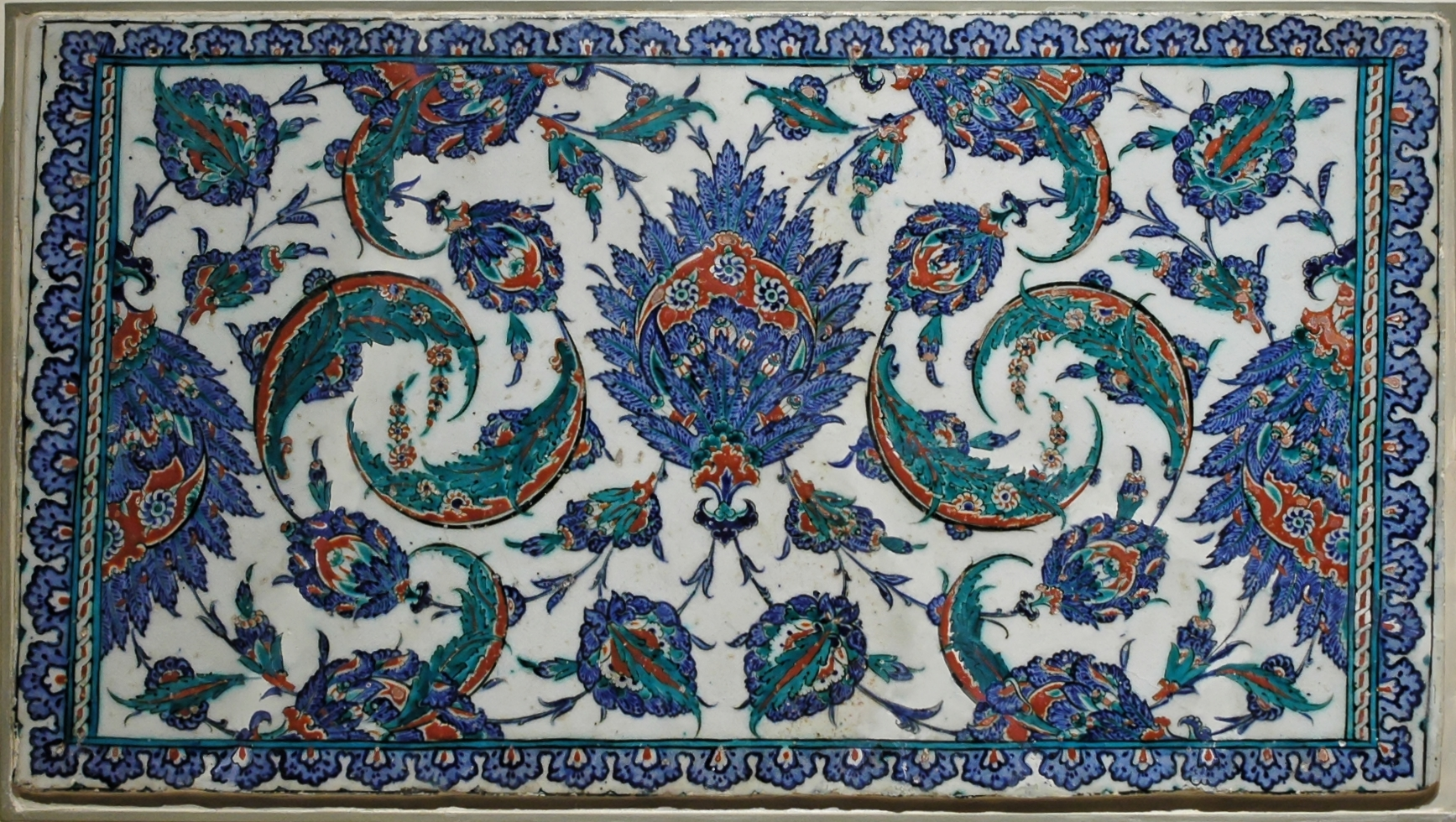 This Is One Of The Iznik Tile Decoration In Selimiye