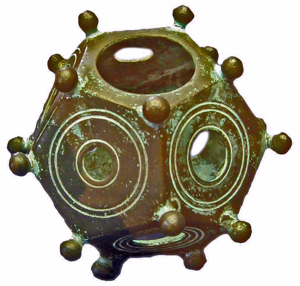 Roman dodecahedron - Wikipedia