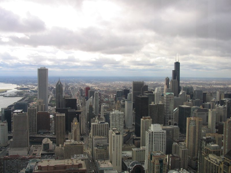 Sears Tower from Hancock Observatory.jpg