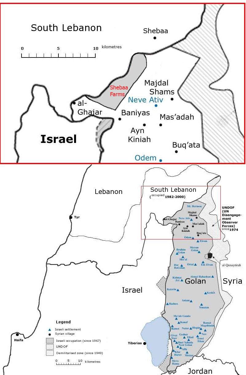 Incursión de Hezbolá en Israel