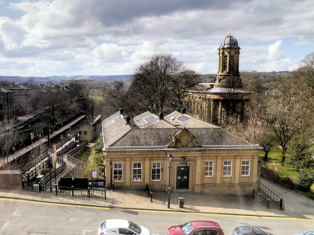 Shipley College Mill Building, Saltaire (geograph 4403583)