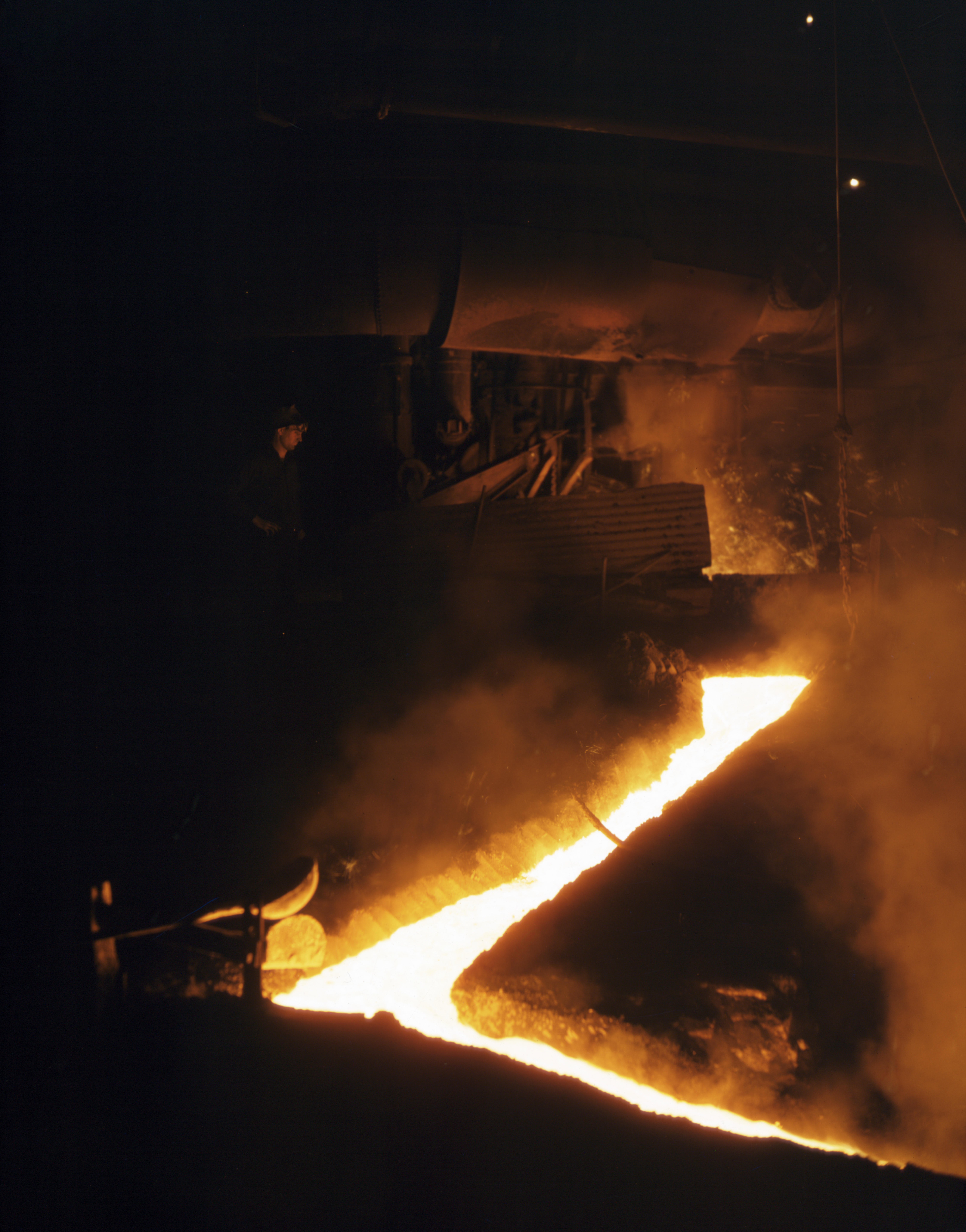 a description of steelmaking Job description print preview coordinate and assist in identifying with the unit manager of steelmaking reliability opportunities for improvement that will facilitate reliable and stable operations.