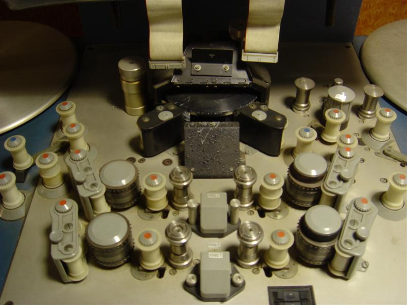 A reel-to-reel editing table. By Andrew Lih [CC-BY-SA-2.0 (www.creativecommons.org/licenses/by-sa/2.0)], via Wikimedia Commons