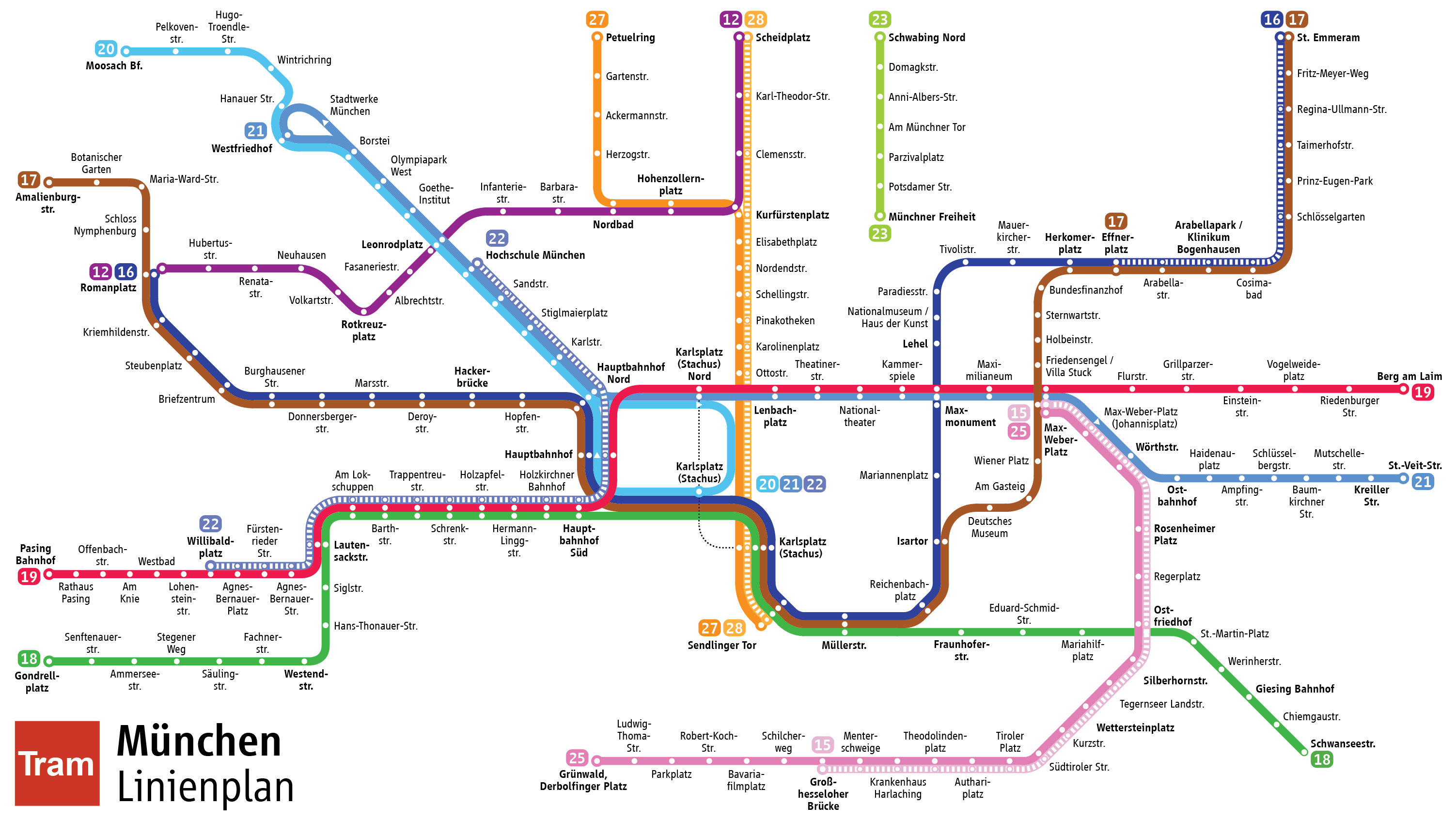 File Strassenbahn Linienplan Munchen Png Wikimedia Commons