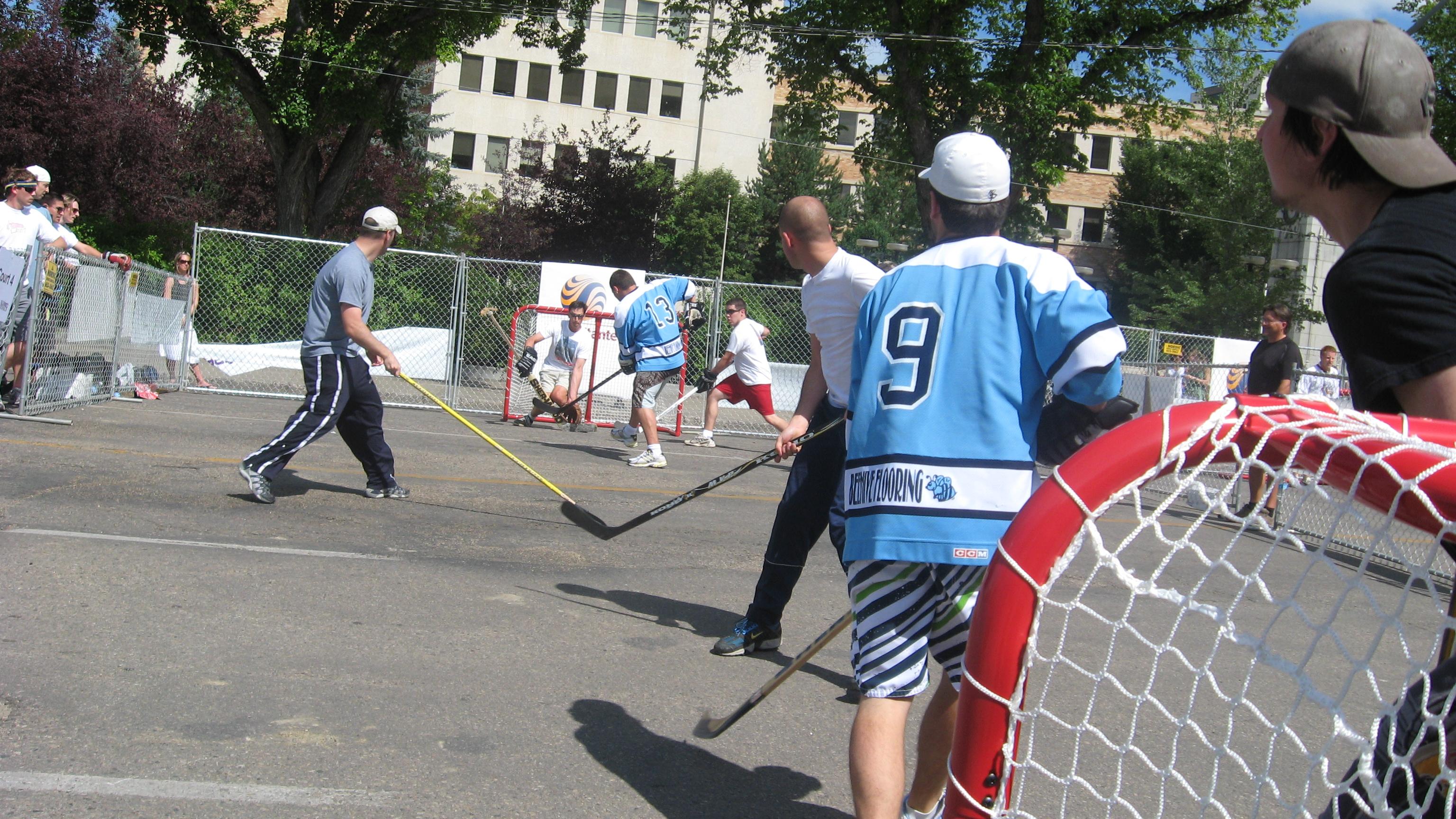 File Street Hockey Charity Tournament 2 Jpg Wikimedia Commons