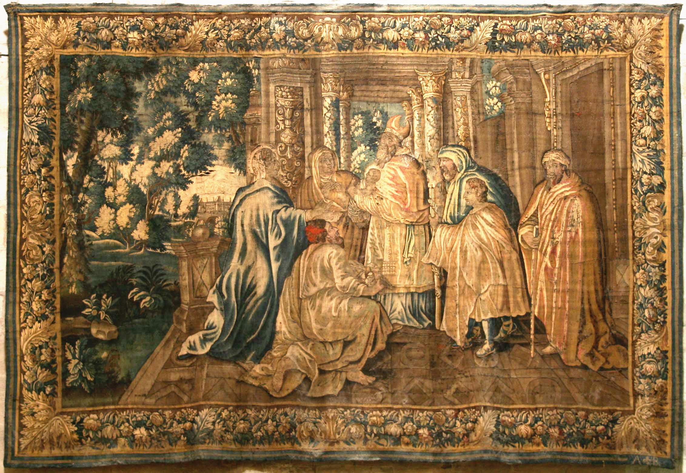 File tapisserie aubusson arles wikimedia commons for Tapisserie murale de luxe