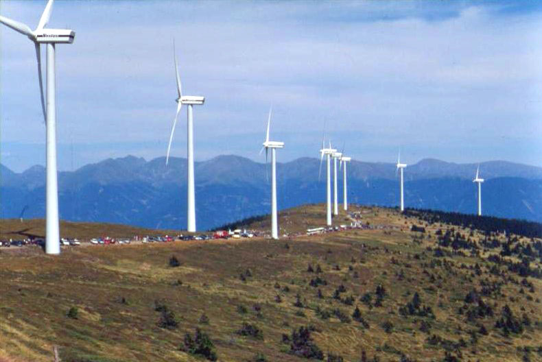 the use of wind energy wind turbines and wind spins in making electricity Electricity, primarily through the use of wind turbines, causing the turbine blades to spin wind energy resources offshore wind turbines are.