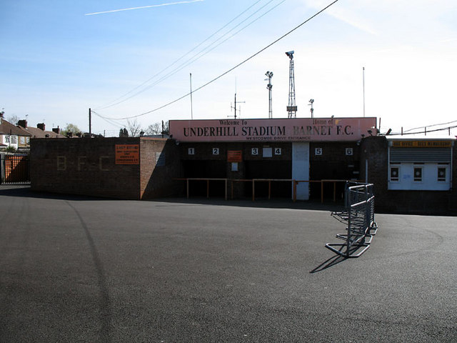 File:The Away Fans Entrance - geograph.org.uk - 371027.jpg