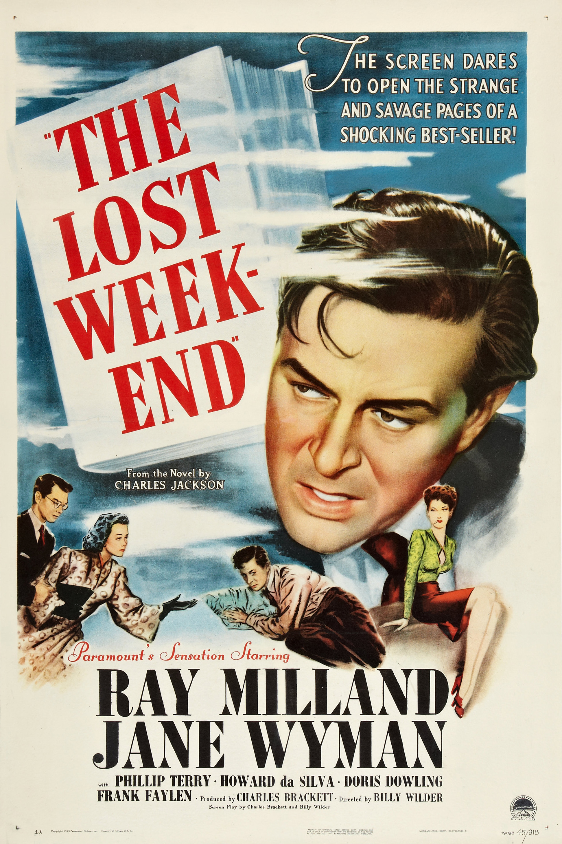 The Lost Weekend Film Wikipedia