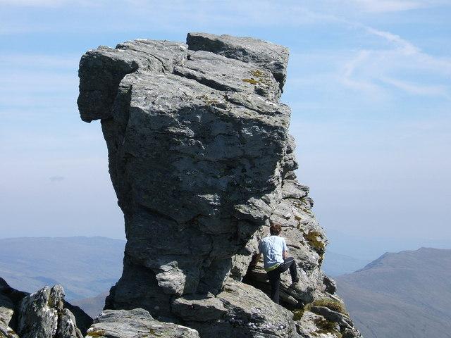 The Needle of The Cobbler (Ben Arthur) - geograph.org.uk - 396218