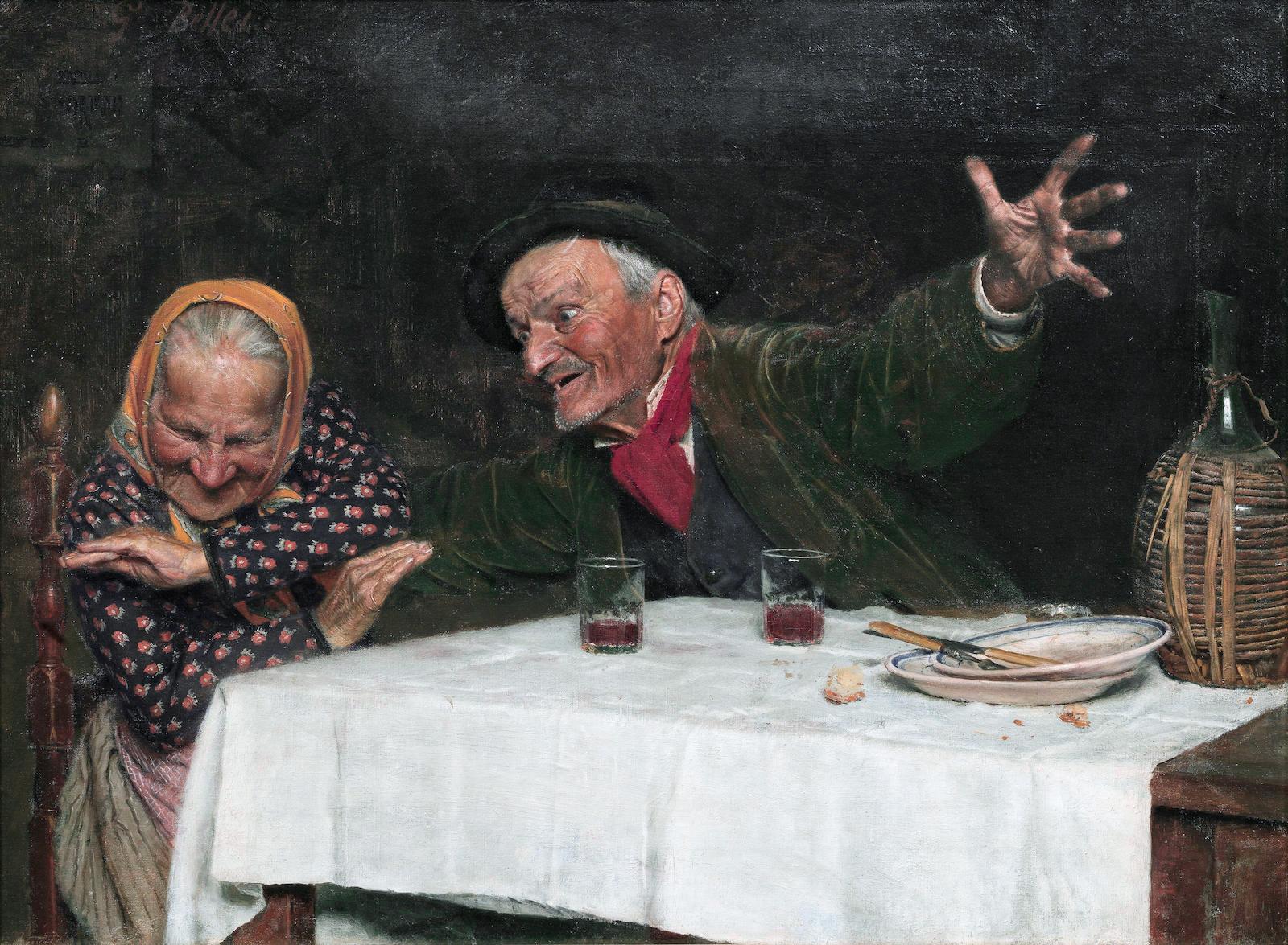 Gaetano Bellei (1857-1922) - The joker