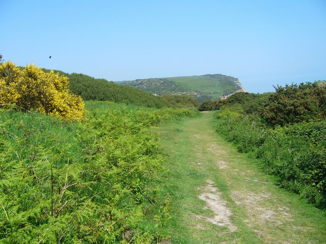 The way ahead in Hastings Country Park - geograph.org.uk - 1091612