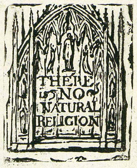 There is no natural religion