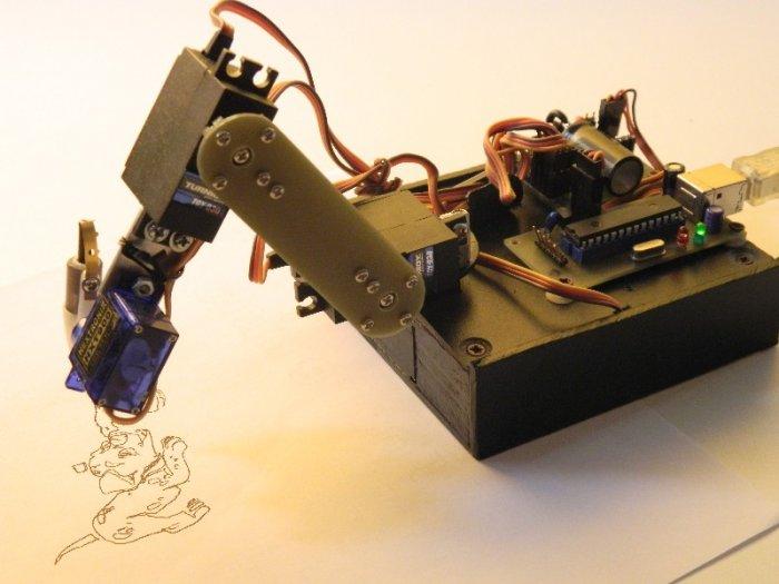 Arduino IoT Robotic Arm - Hacksterio