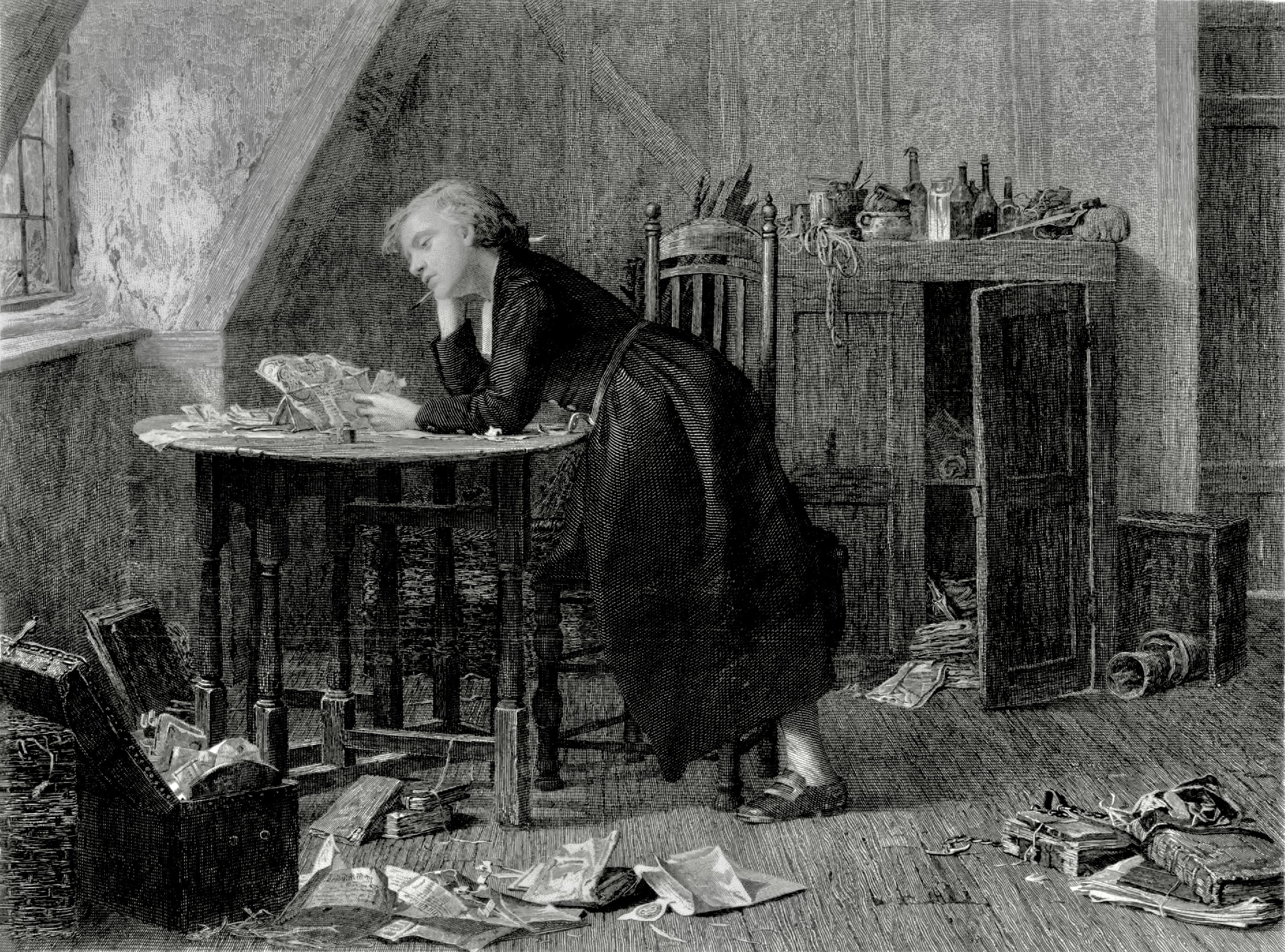 Thomas Chatterton death