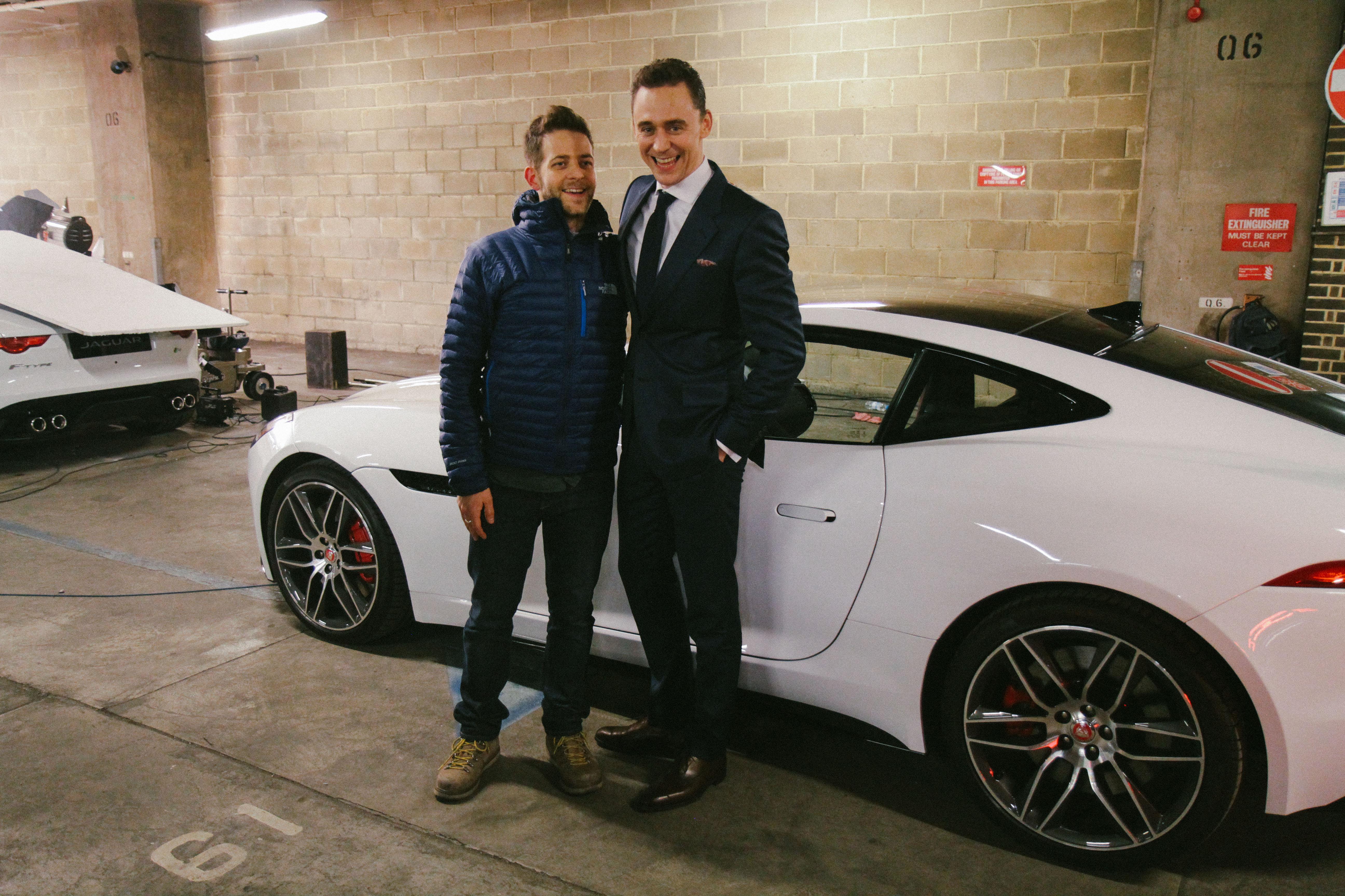 Attractive File:Tom Hiddleston Jaguar Ad February 2014