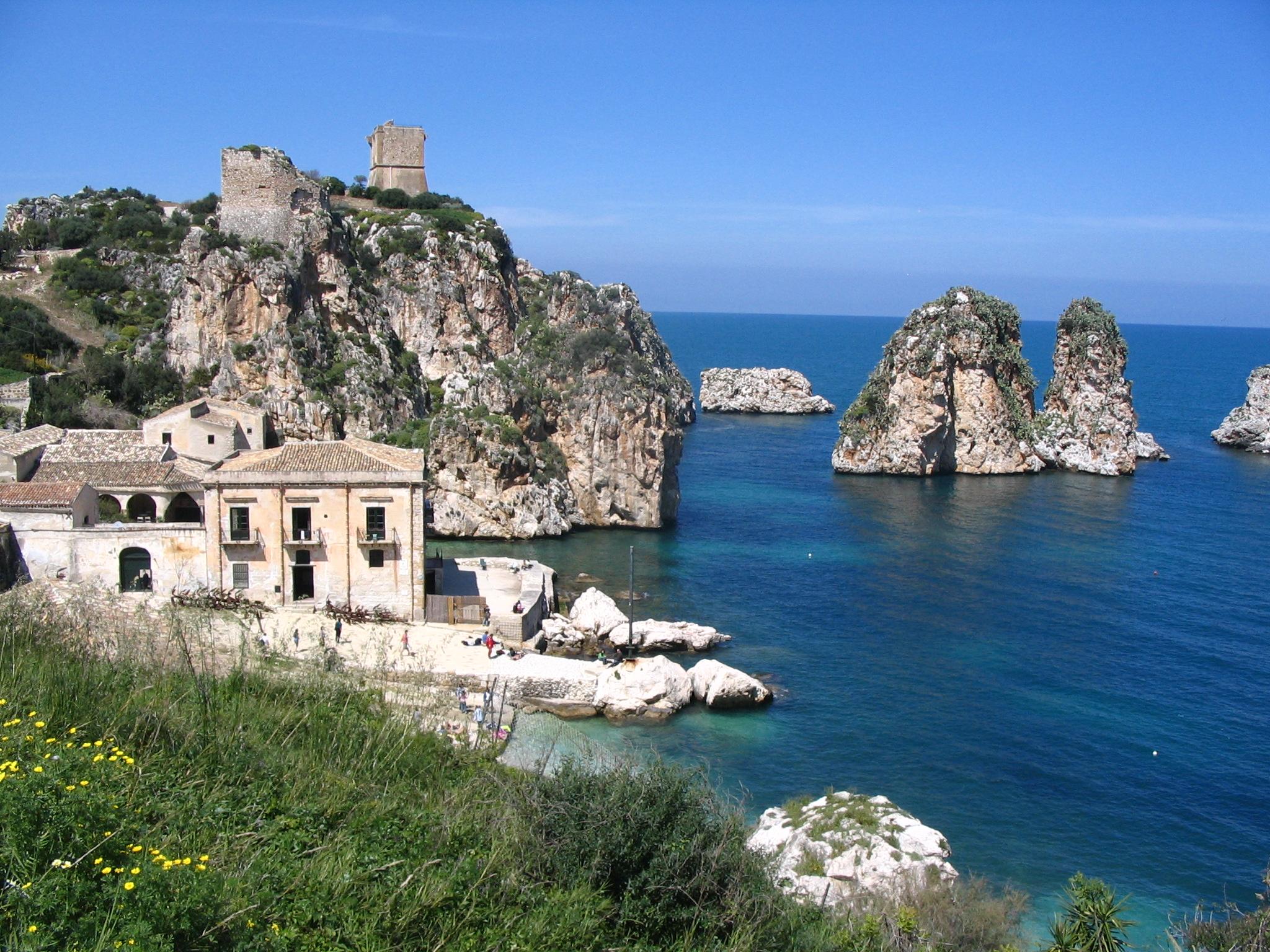 scopello - guia de viaje sicilia