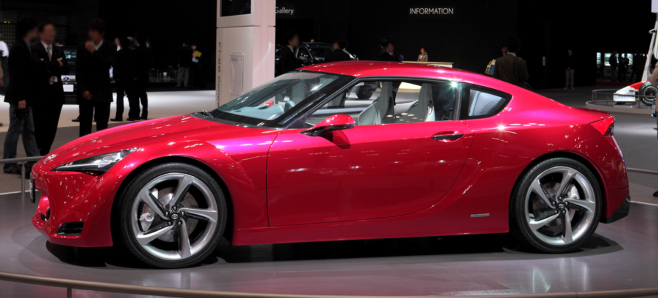 Concept Cars Toyota Ft 86 Concept