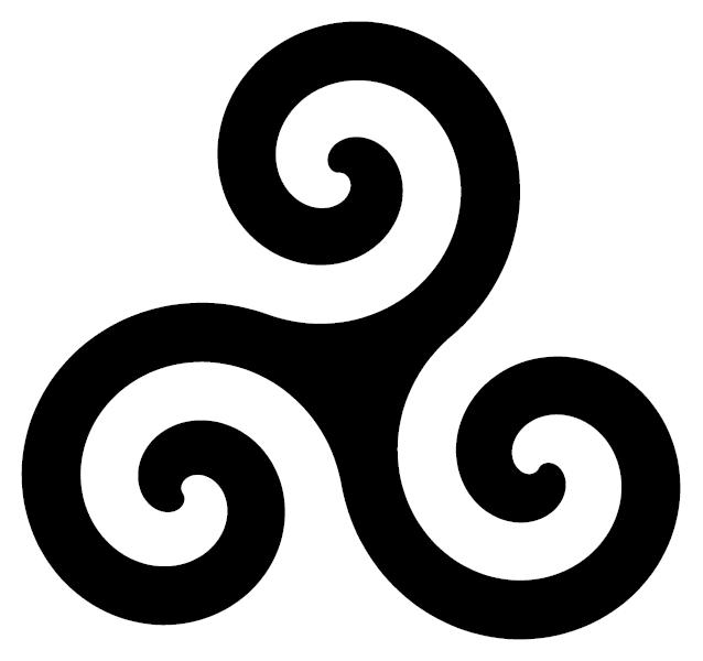 Size:288x219 - 35k: Triskele Tattoo triskele symbols