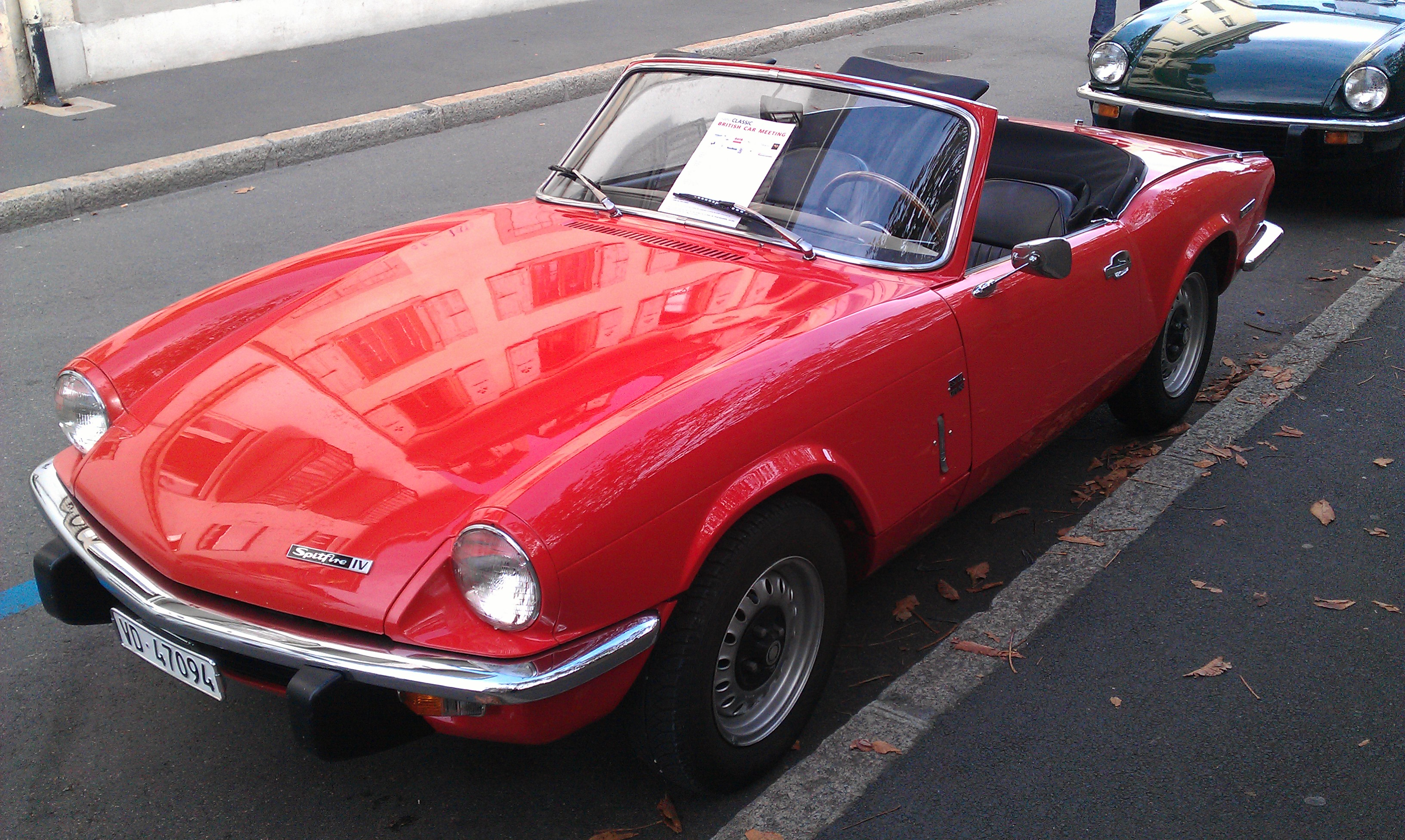 FileTriumph Spitfire MkIV in Morges 2012  5jpg  Wikimedia Commons
