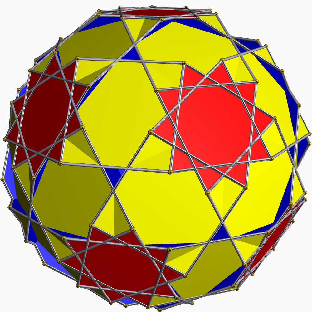 Truncated dodecadodecahedron