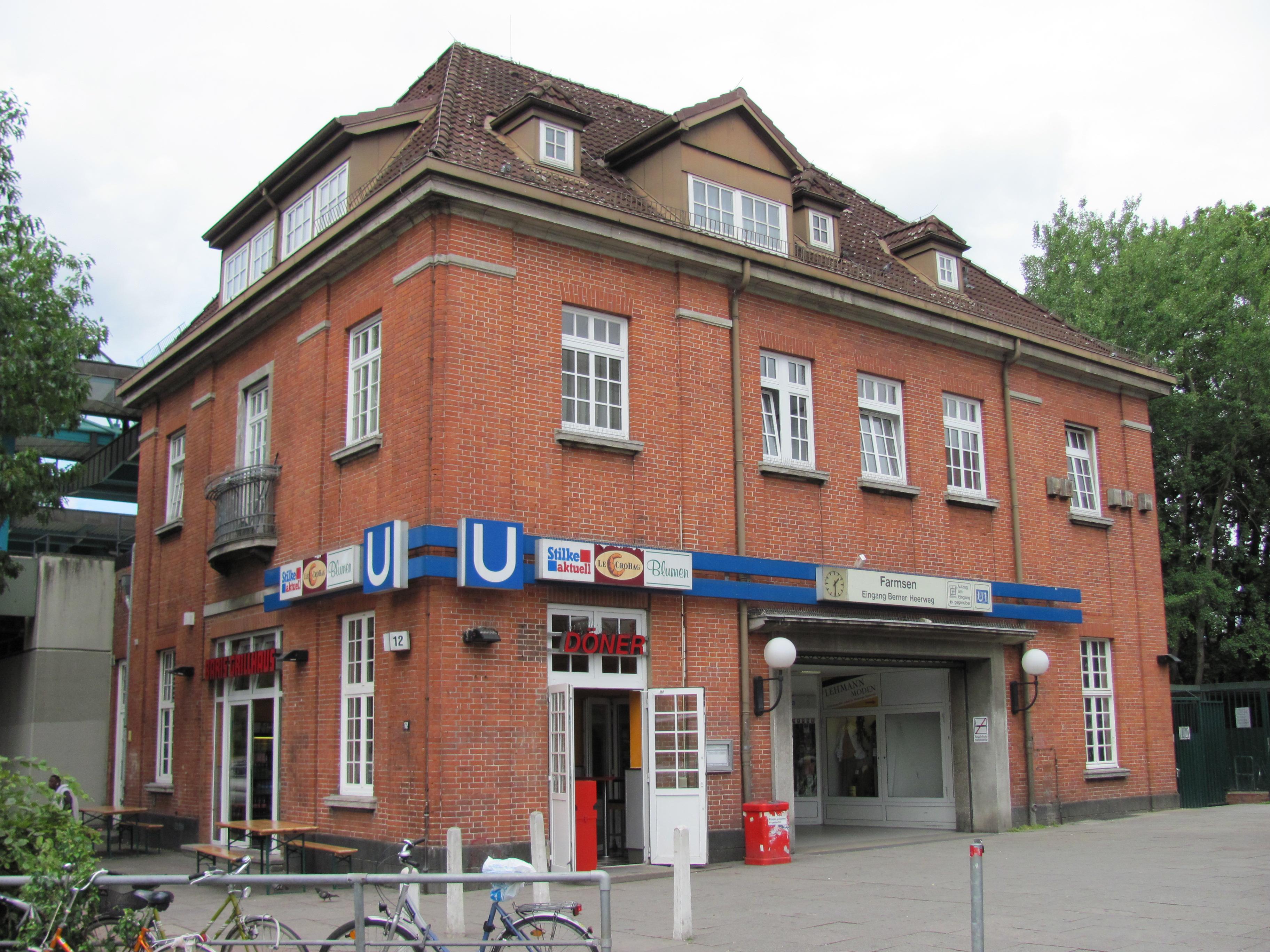 Datei U Bahnhof Farmsen Wikipedia