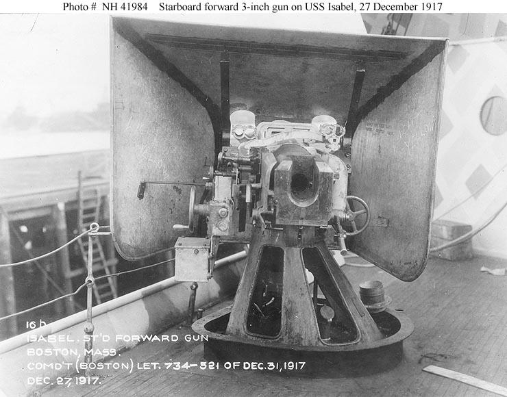 Chart Of Bullet Caliber Size: USS Isabel 3 inch 50 cal gun breech view 1917 NH 41984.jpg ,Chart