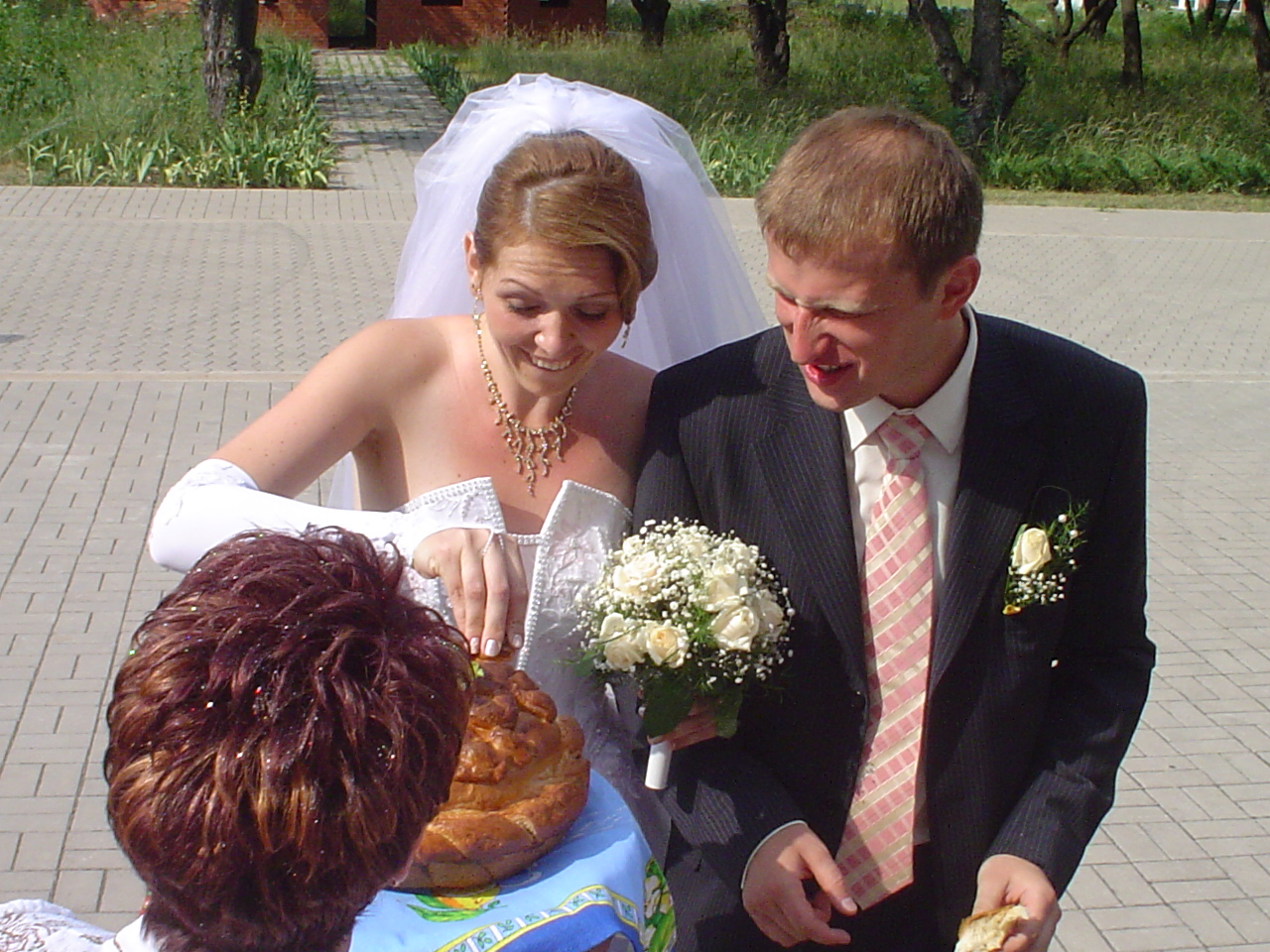 Ukrainian Bride And Groom Enter 12