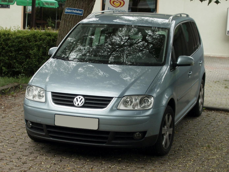 Volkswagen Touran 2 0 Fsi Trendline 2006