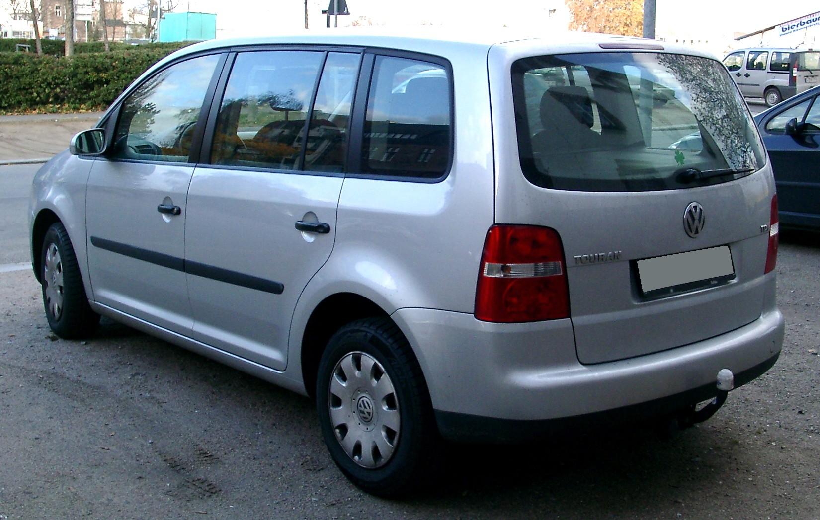 File:VW Touran rear 20071112.jpg - Wikimedia Commons
