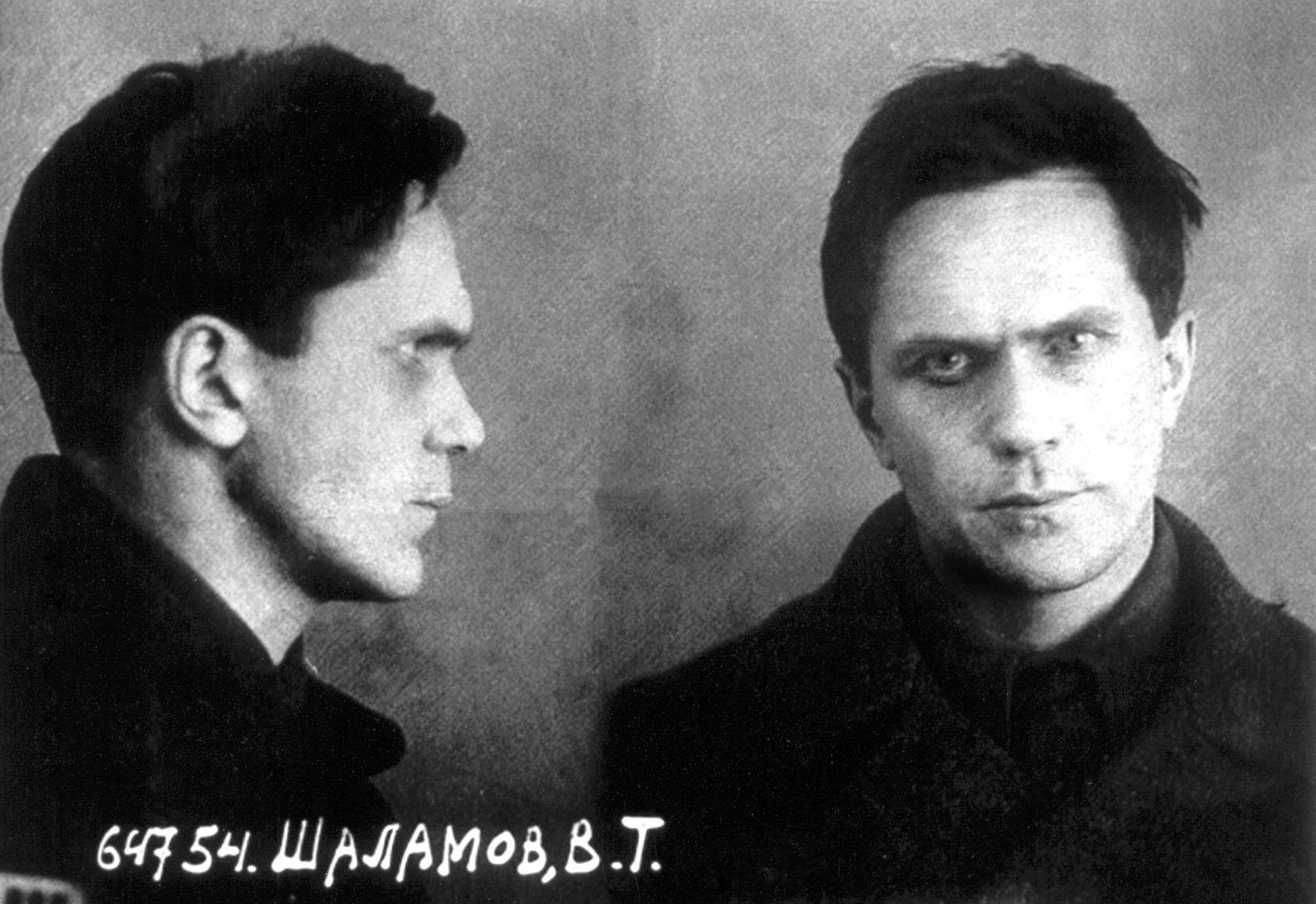 Варлам Шаламов. Фото из личного дела, 1937 год. Источник: «Википедия».