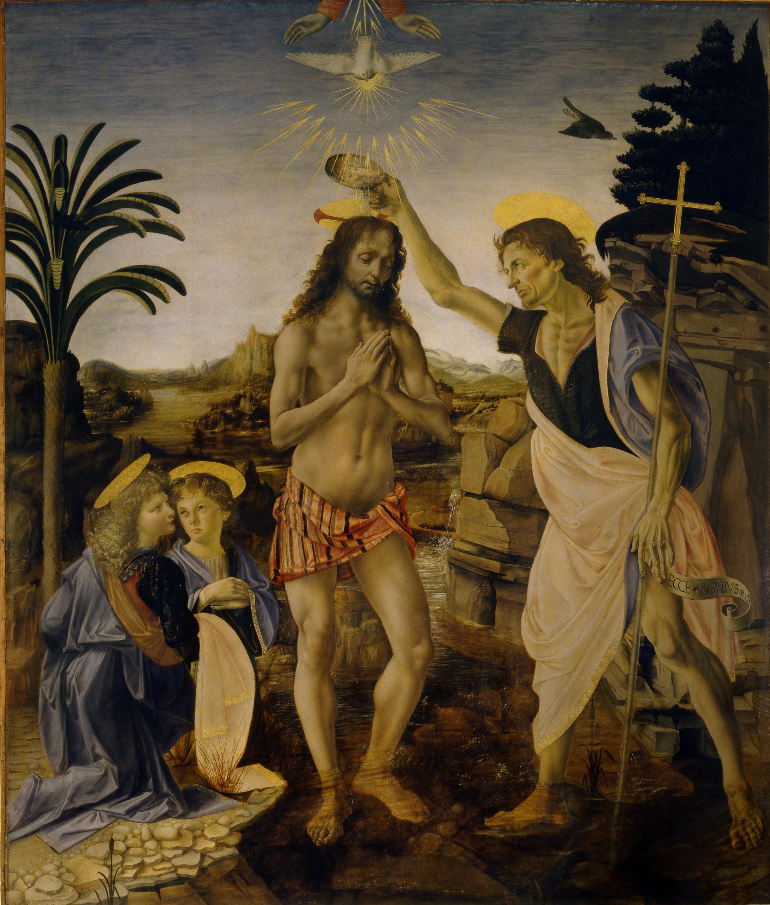 1000+ images about Galleria degli Uffizi on Pinterest ... Da Vinci Paintings Mirrored