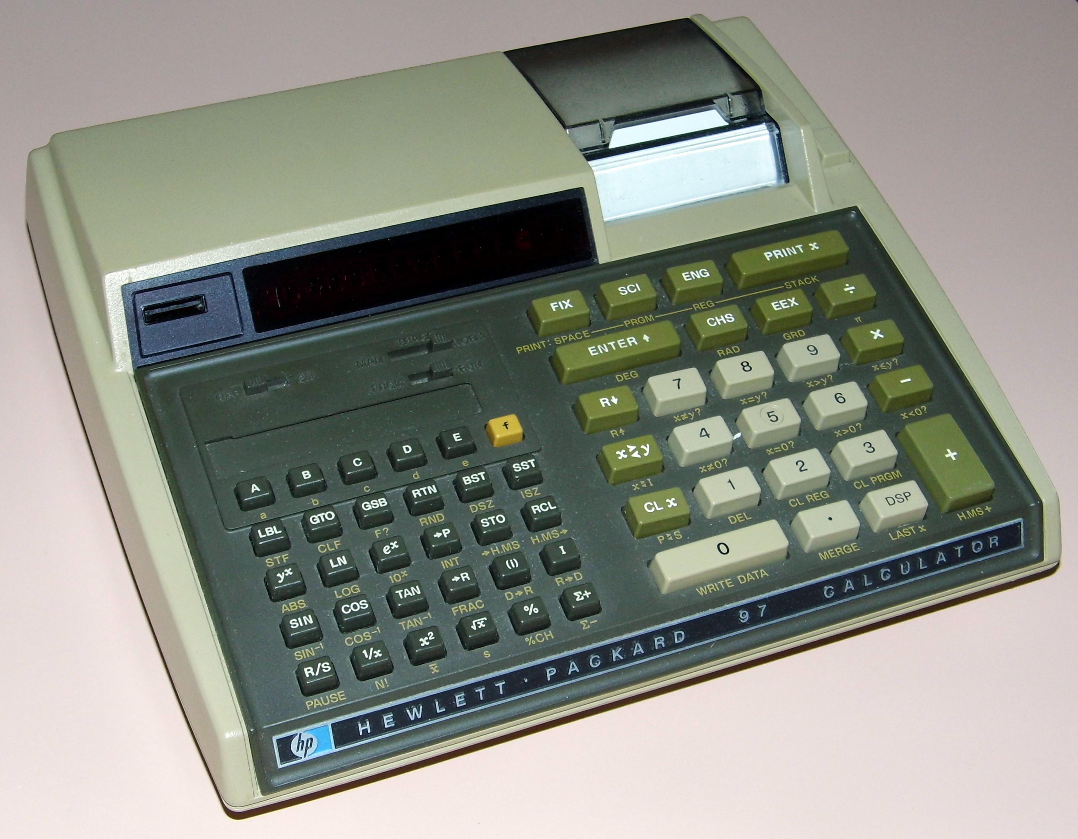 Canon f-605 7 segment lcd scientific calculator 9832b001.