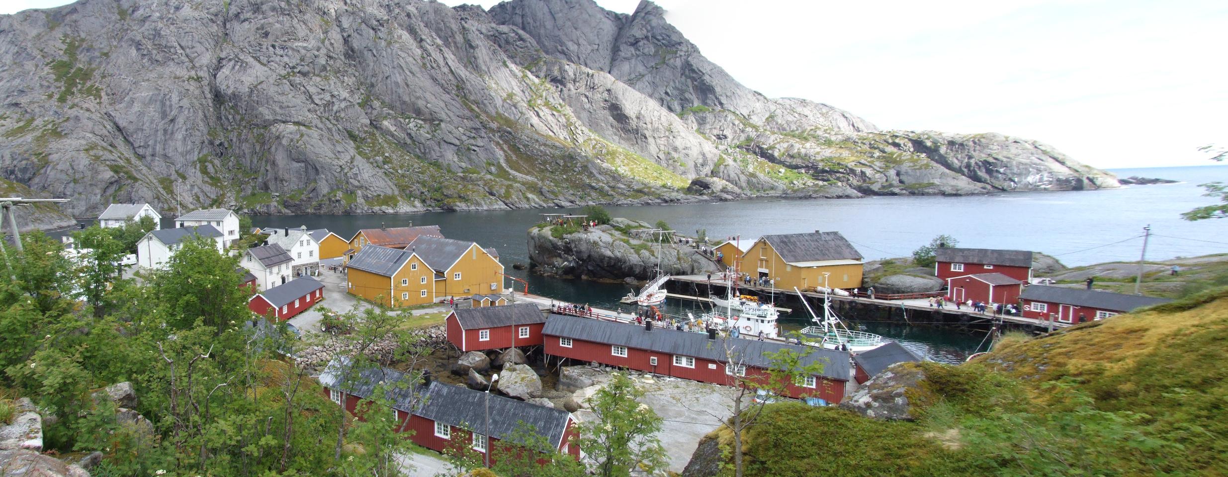 Norway File Vue De Nusfjord Flakstad Jpg
