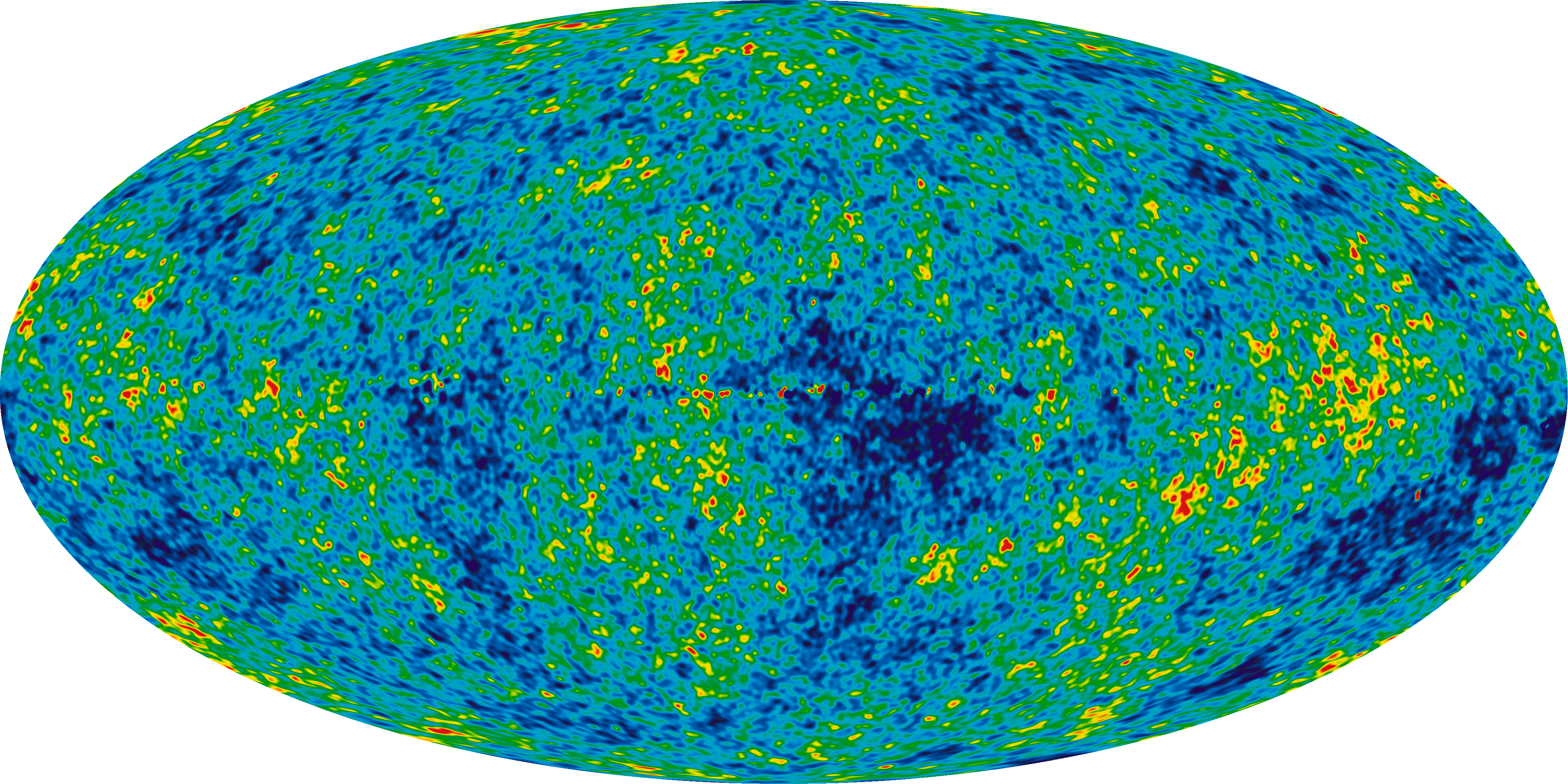 The CMB, as seen by the WMAP satellite
