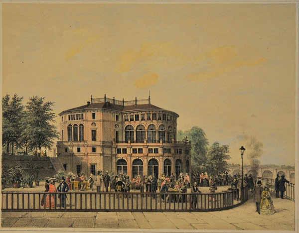 Wilhelm Bässler Dresden Belvedere