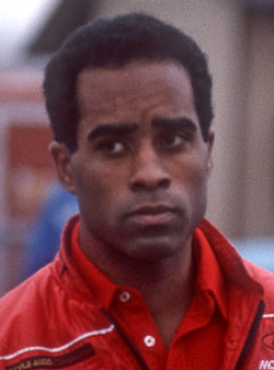 English: Racing driver Willy T. Ribbs, photogr...