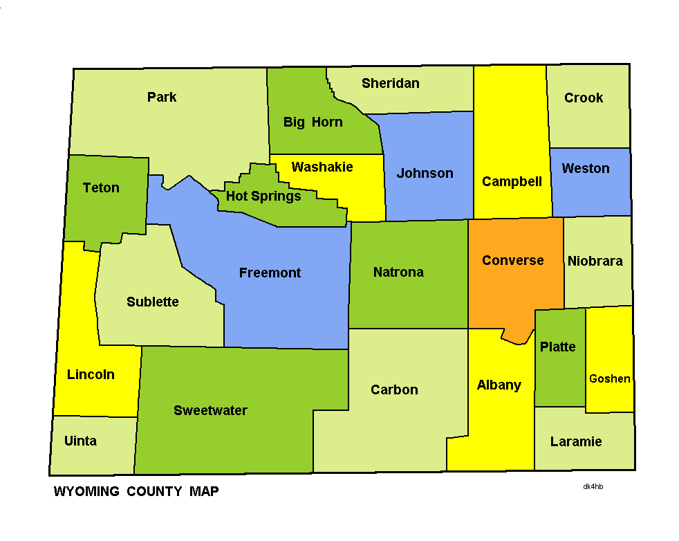 File:Wyoming county map.png - Wikimedia Commonswyoming county