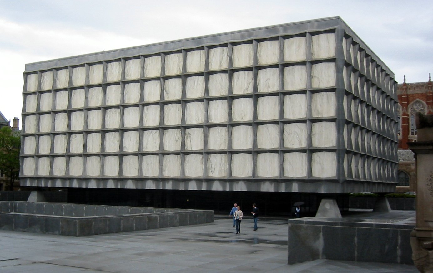 ファイル yale beinecke library jpg wikipedia