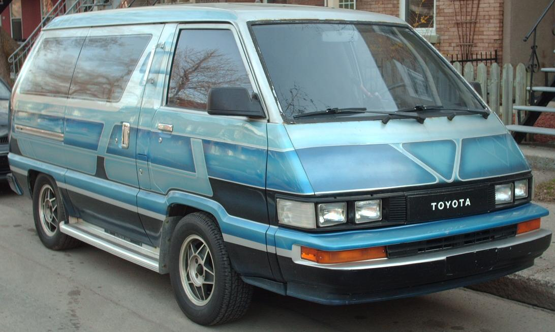 tell me about 80s toyota van. Black Bedroom Furniture Sets. Home Design Ideas