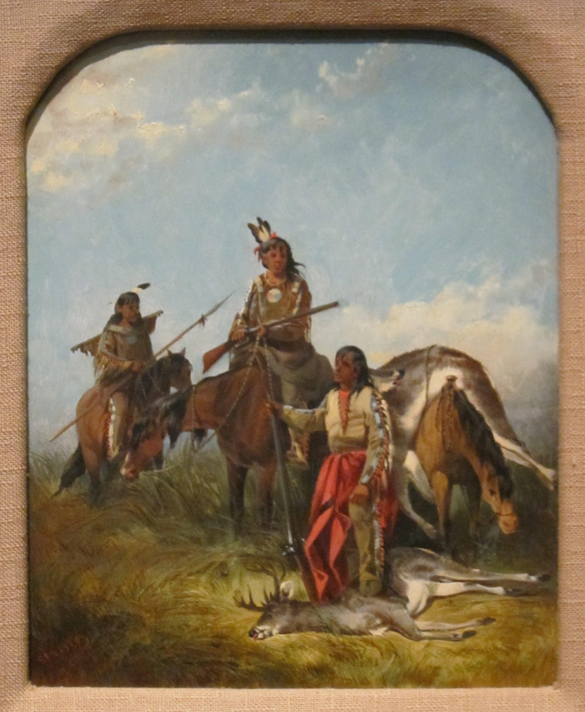 American Indian Artist Paintings