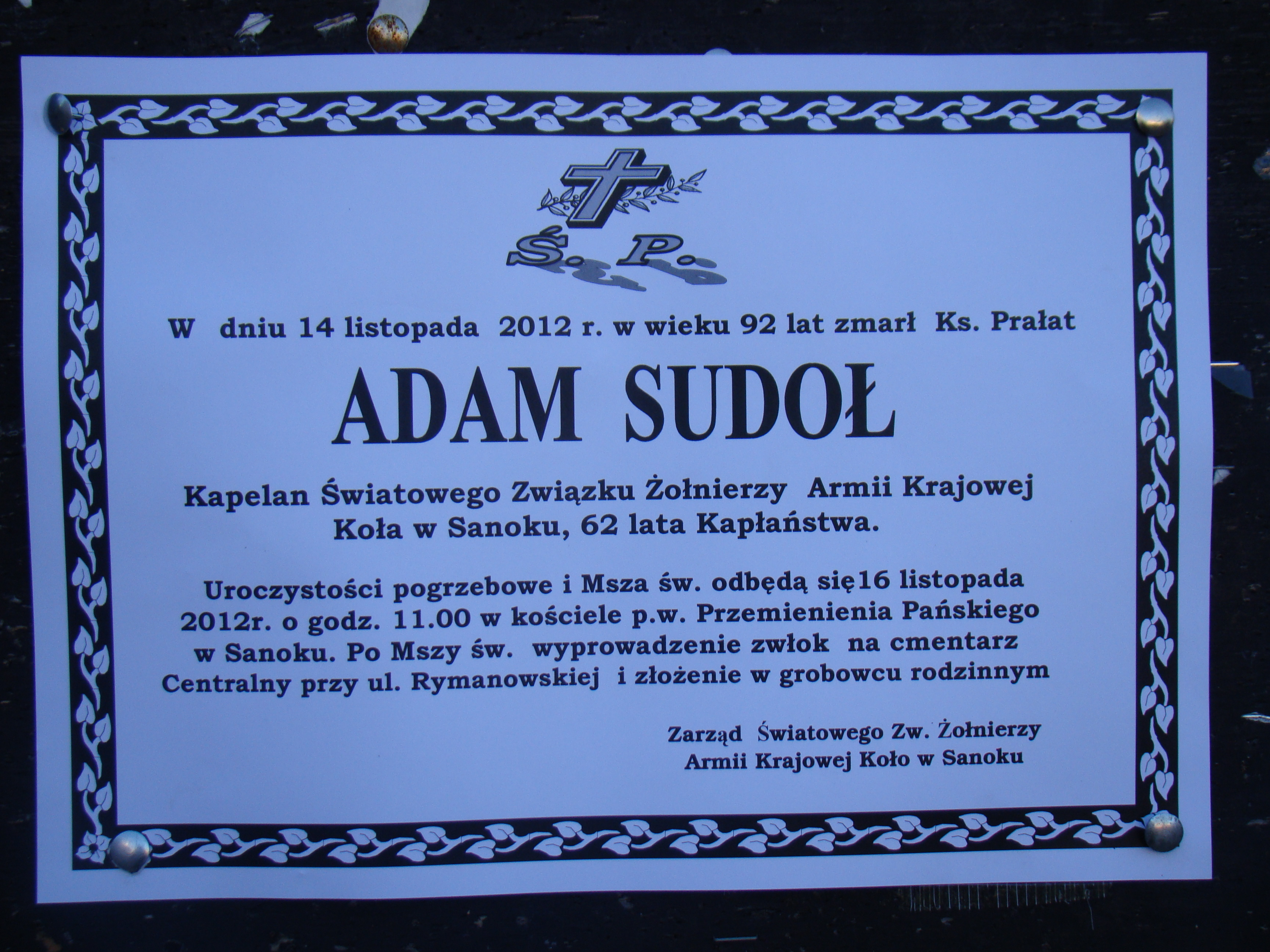 File:000 Funeral of Adam Sudoł.JPG