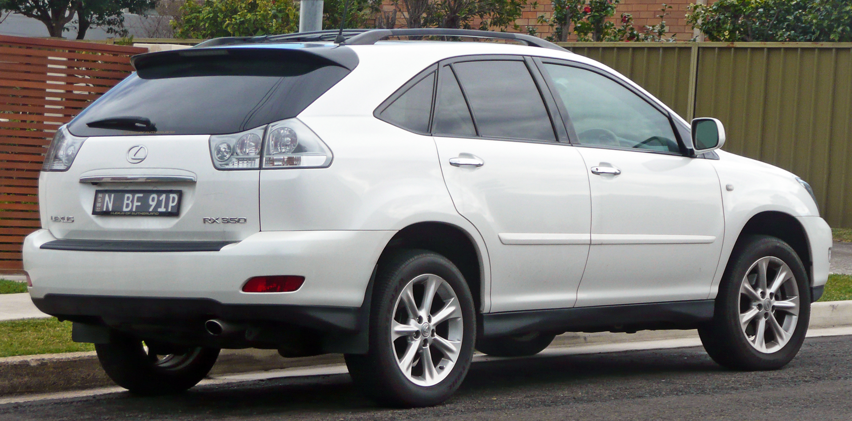 file 2007 2008 lexus rx 350 gsu35r sports luxury wagon wikimedia commons. Black Bedroom Furniture Sets. Home Design Ideas