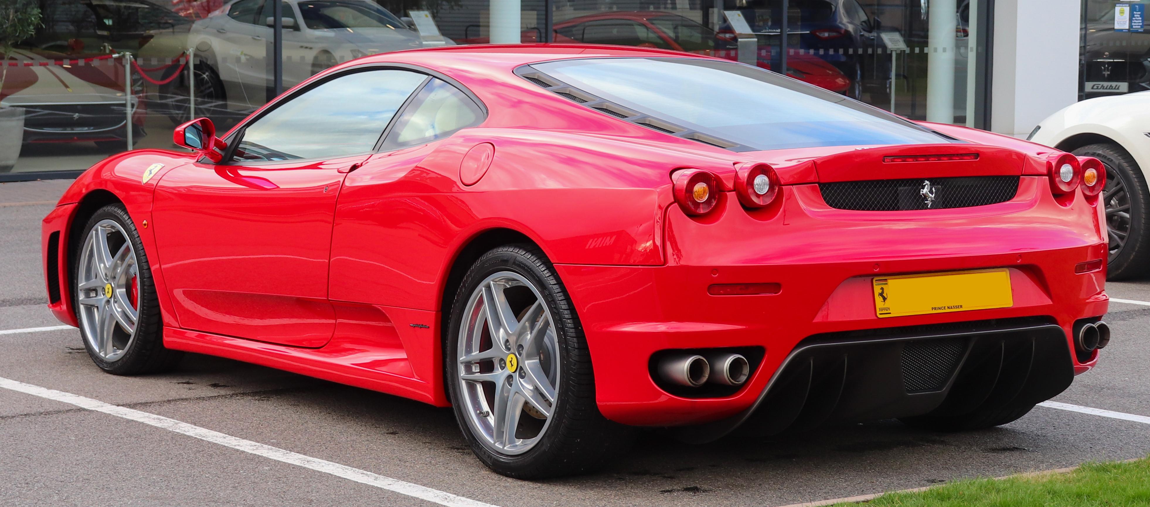 File 2007 Ferrari F430 F1 4 3 Rear Jpg Wikimedia Commons
