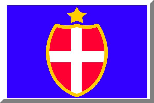 File:600px Blu bordato di Bianco con scudo Rosso crociato ...